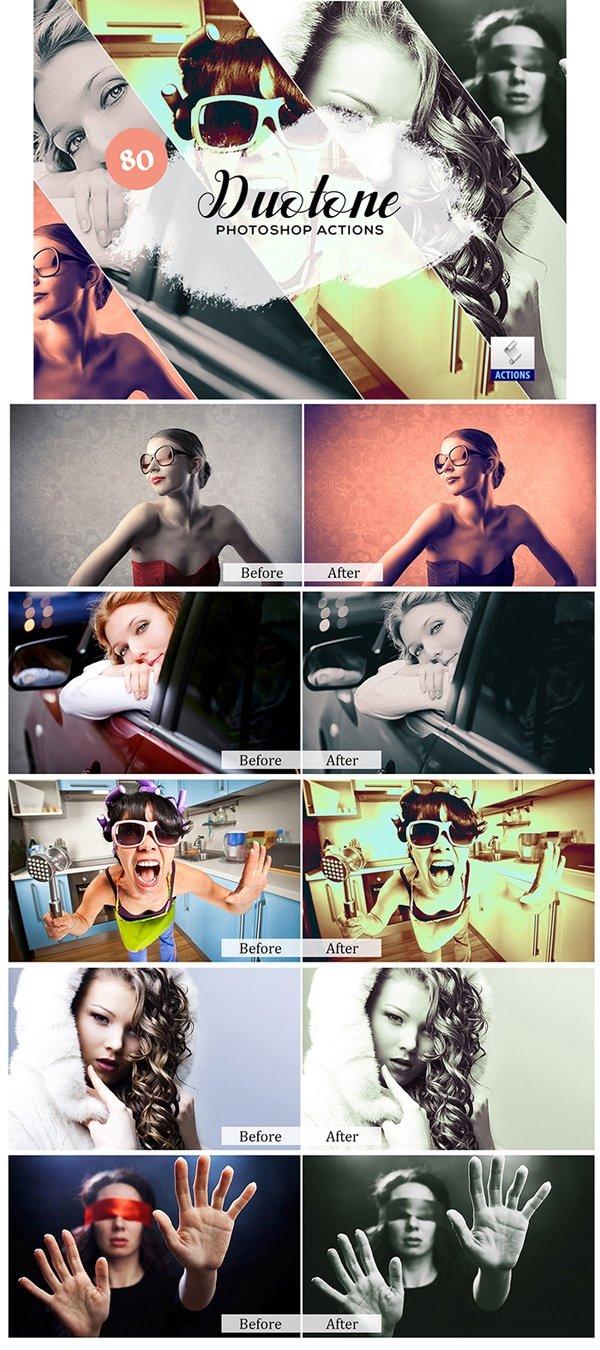 Mega Giant Bundle! 15 000 Photoshop Actions - $49 - Duotone Photoshop Actions