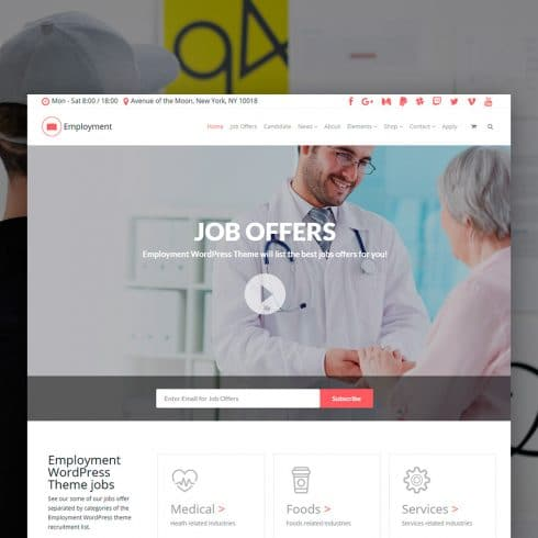 Author - Employment WordPress Theme 490x490