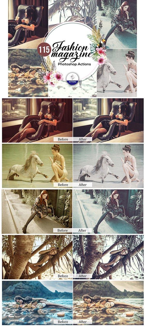 Mega Giant Bundle! 15 000 Photoshop Actions - $49 - Fashion Magazine Photoshop Actions
