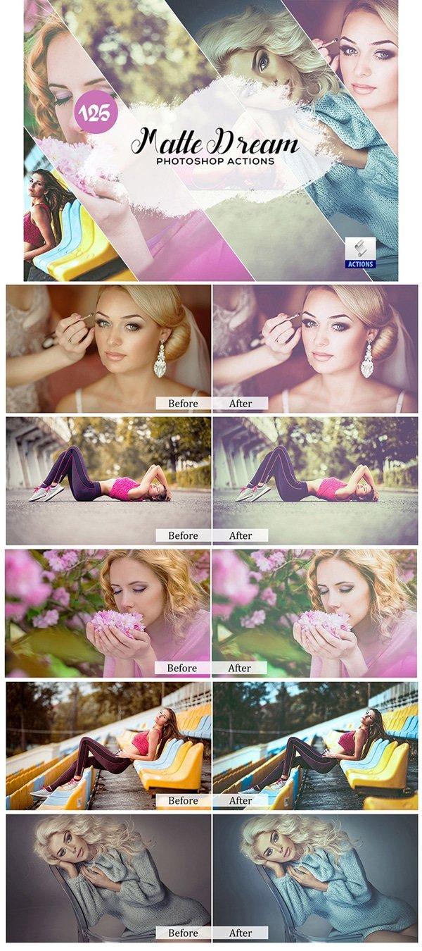 Mega Giant Bundle! 15 000 Photoshop Actions - $49 - Matte Dream Photoshop Actions