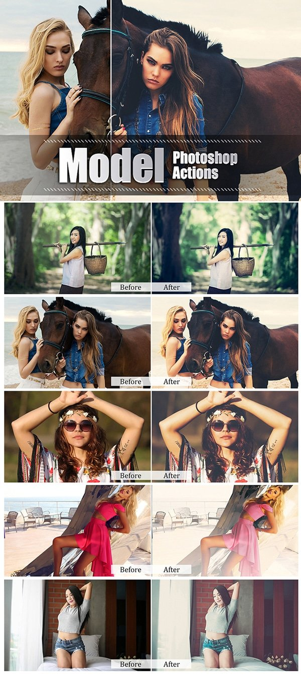 Mega Giant Bundle! 15 000 Photoshop Actions - $49 - Model Photoshop Actions