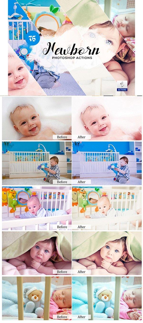 Mega Giant Bundle! 15 000 Photoshop Actions - $49 - Newborn Photoshop Actions