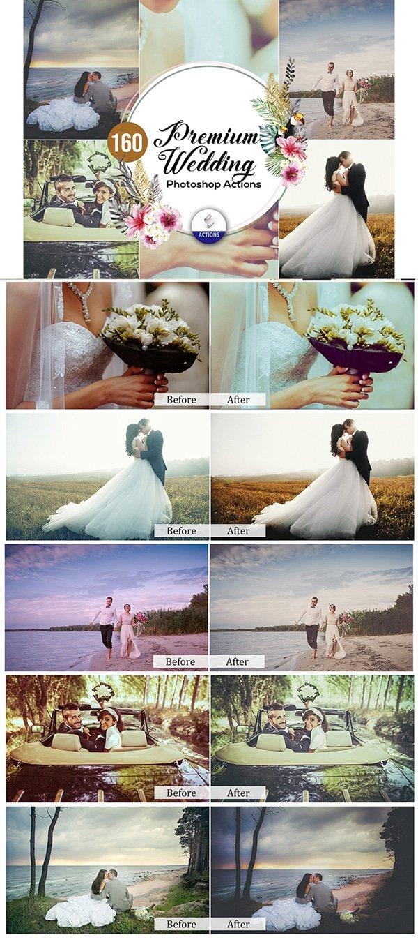 Mega Giant Bundle! 15 000 Photoshop Actions - $49 - Premium Wedding Photoshop Actions