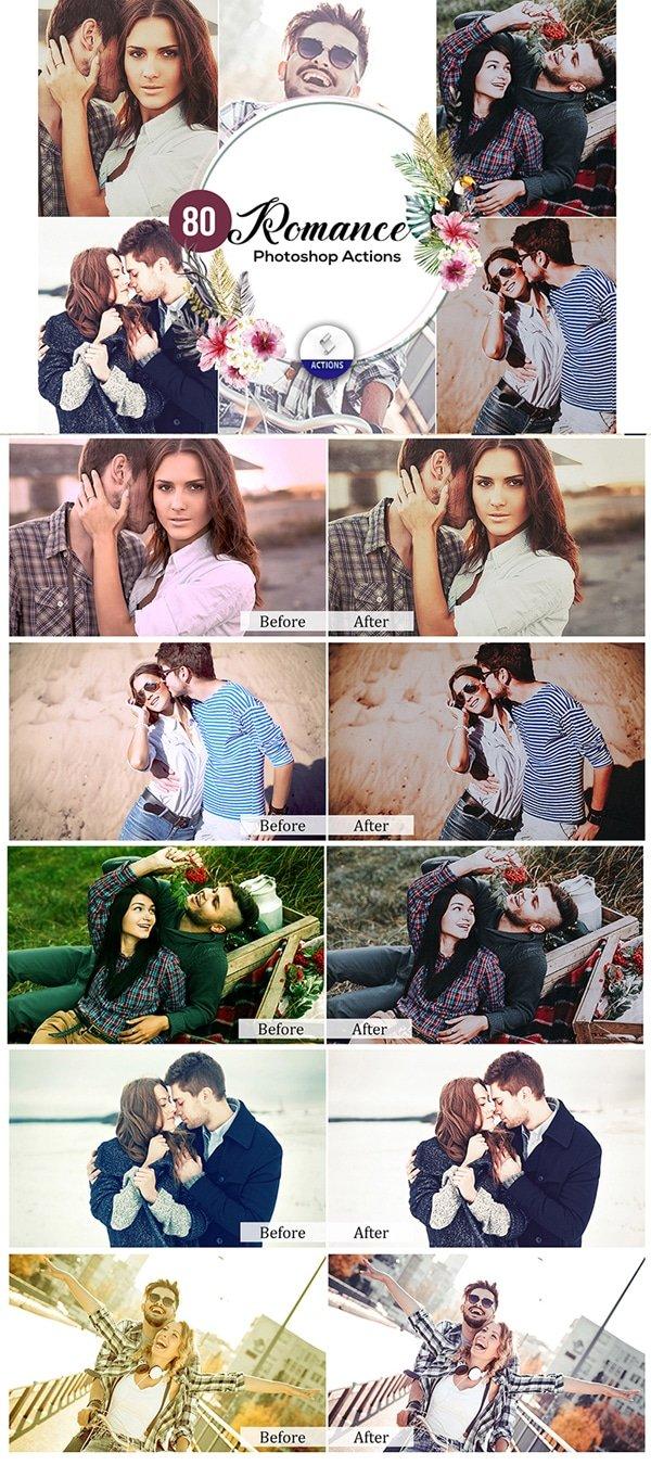 Mega Giant Bundle! 15 000 Photoshop Actions - $49 - Romance Photoshop Actions