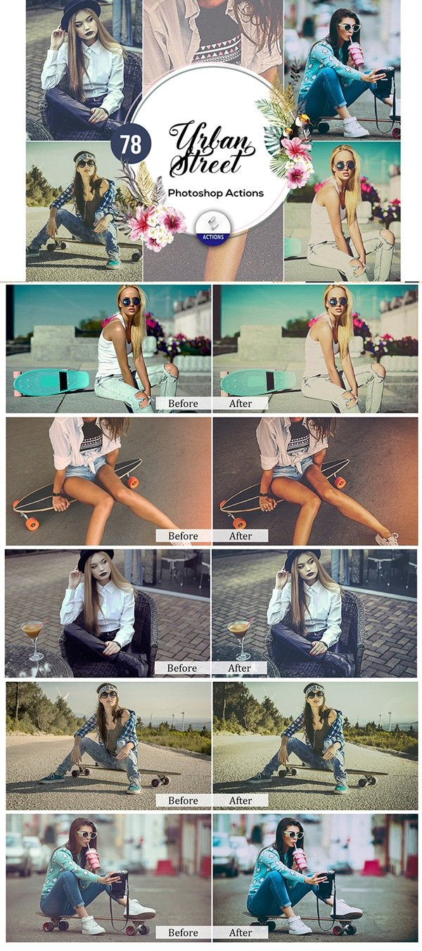 Mega Giant Bundle! 15 000 Photoshop Actions - $49 - Urban Street Photoshop Actions