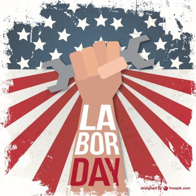 60+ American Flag Vector Products For Your Design Project 2020 - labor day grunge illustration