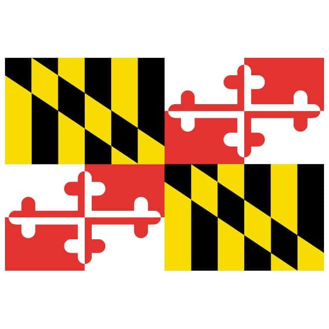 60+ American Flag Vector Products For Your Design Project 2020 - maryland vector flag