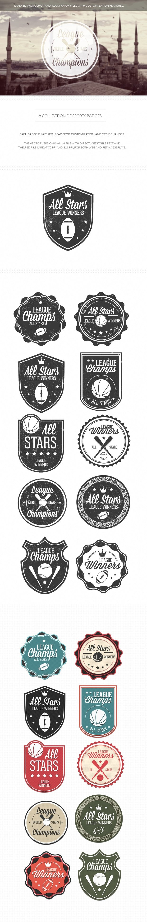 203 Super Premium Badges