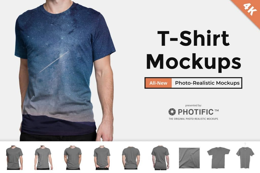 T-Shirt - Apparel Mockups