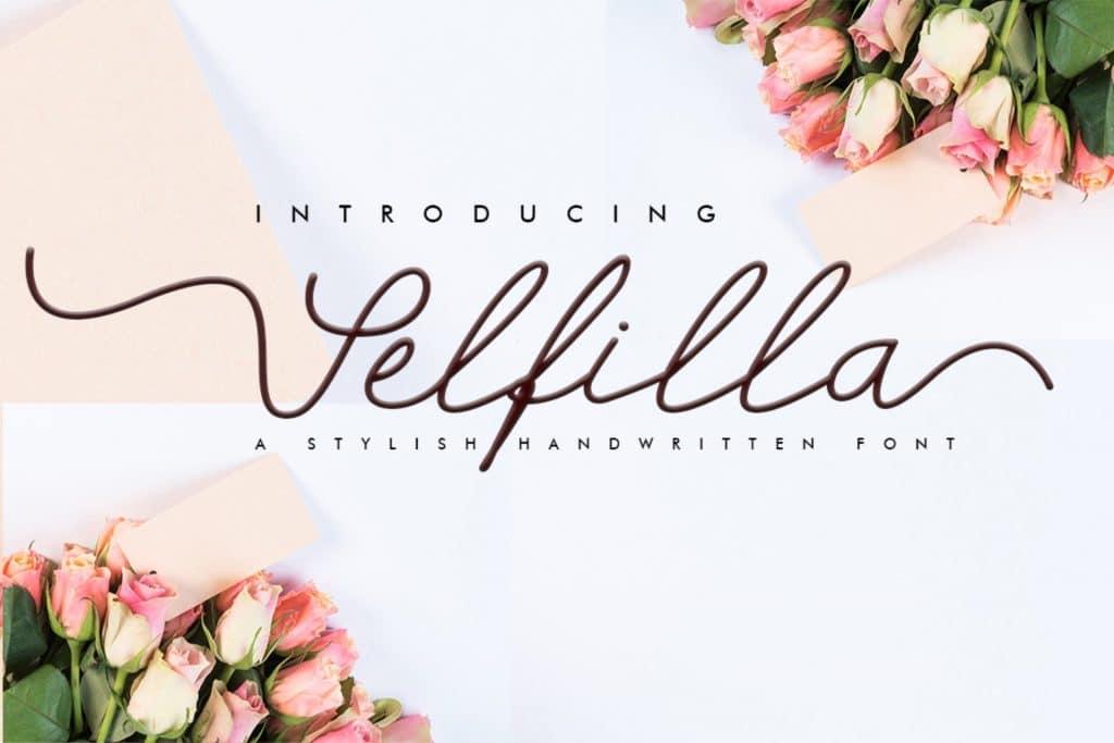 Selfilla Handwritten Font