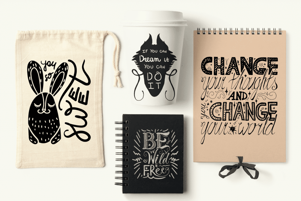 50 Positive Hand Drawn Quotes