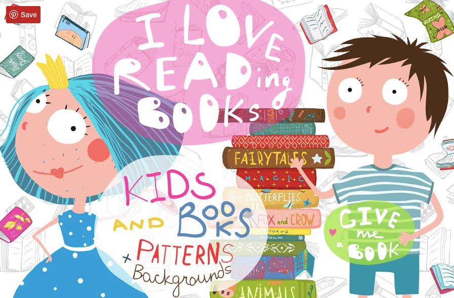 90+ Book Clipart. The World's Largest Kit Of Book Clipart For You - Give me a Book HUGE Reading Bundle