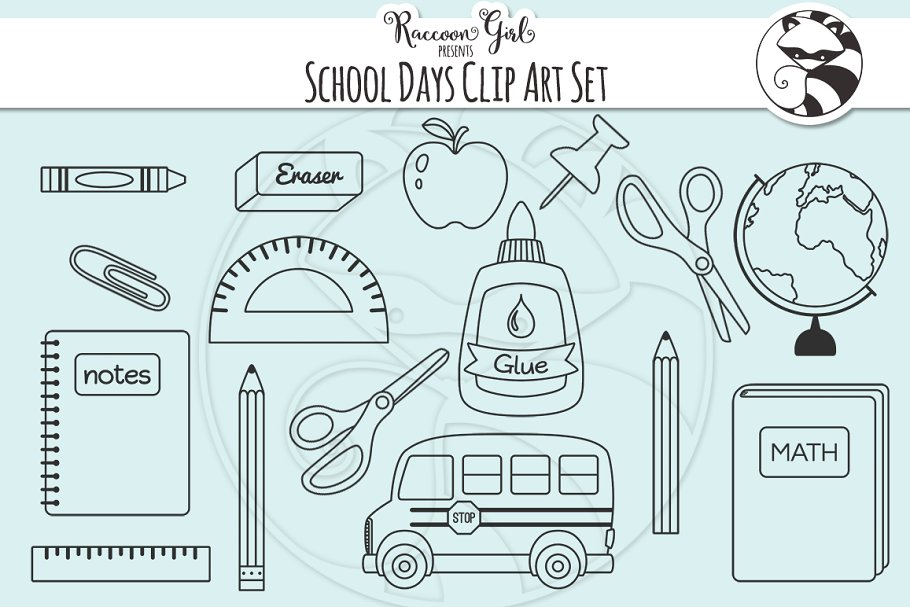 55+ Best Back to School Clipart and Images: Largest Kit 2020 - cm school day clipart sample image 4