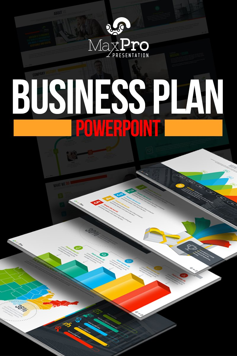 Business Plan PowerPoint Presentation Template - $20 - 01 MaxPro Business Plan PowerPoint Presentation Template