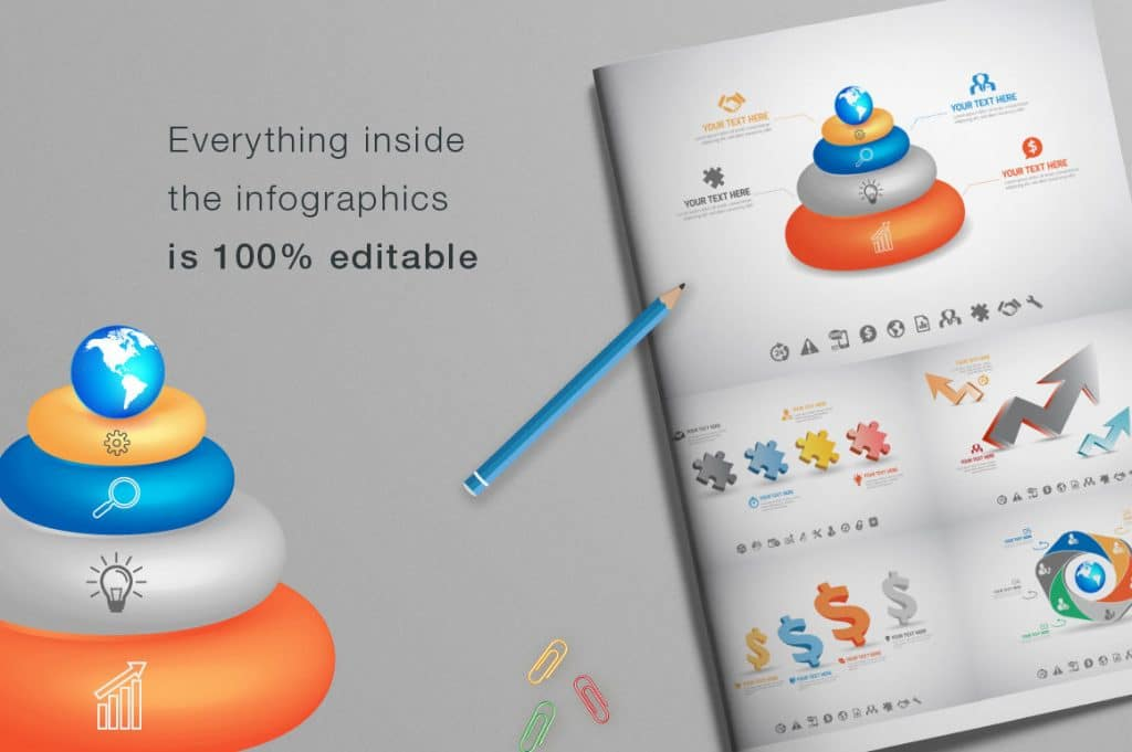 24 Premium Collection of Infographics - $9 - 04 1024x681