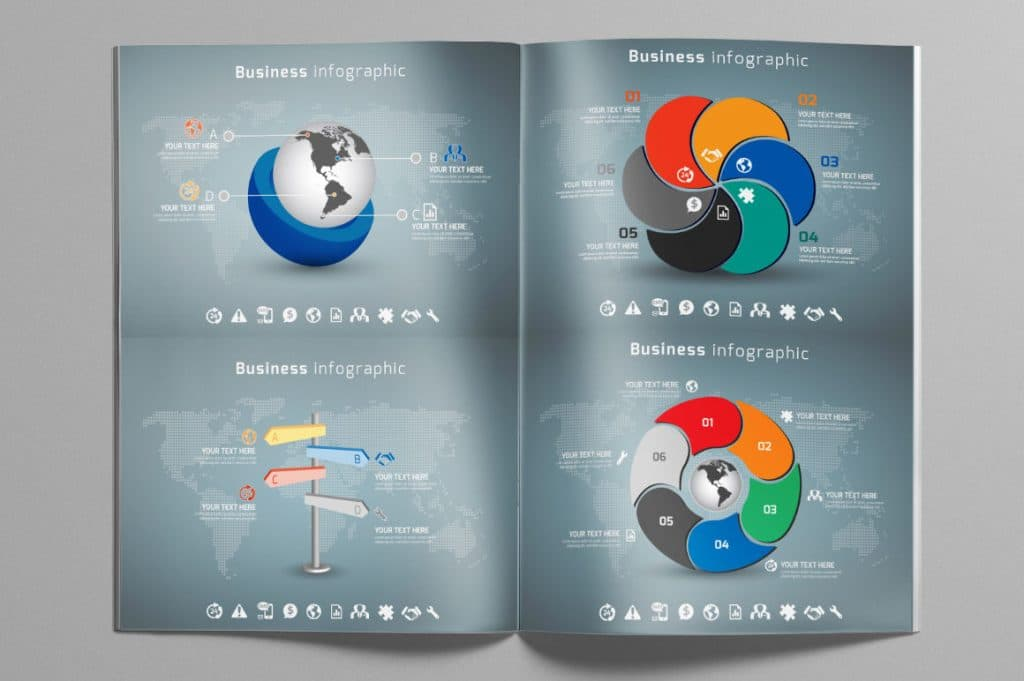 24 Premium Collection of Infographics - $9 - 06 1024x681