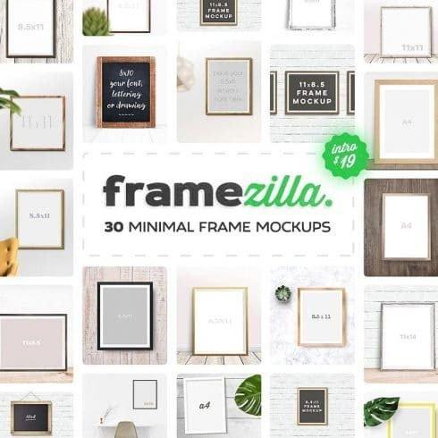 30 Frame Mockups Pictures