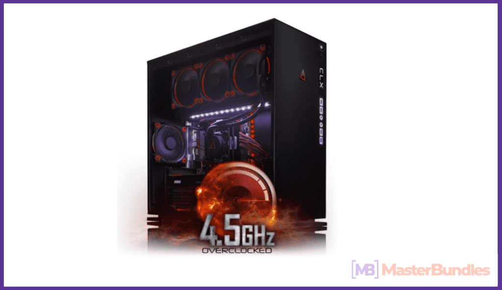 CybertronPC CLX SET 1070S High Performance Gaming PC