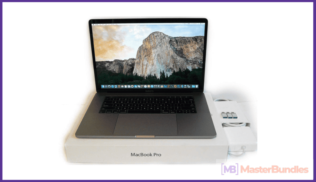 Apple MacBook Pro Touch Bar 15. Gift for Programmers