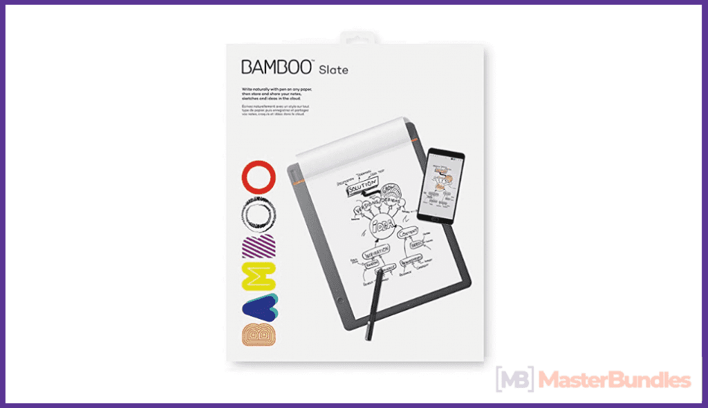 Bamboo Folio Digital Notebook. Gifts for Artists