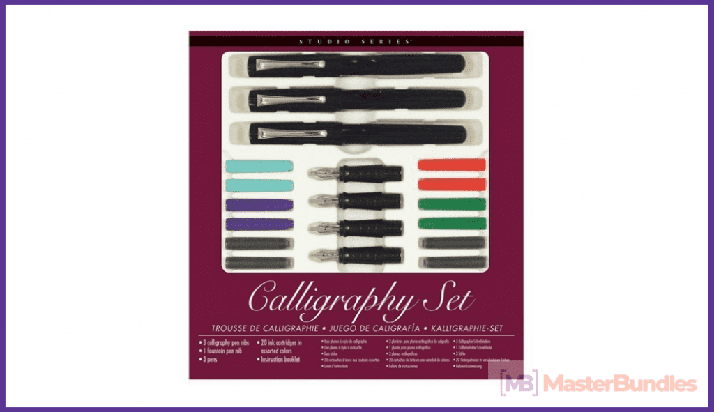 Calligraphy Pen Set. Birthday Gifts for Artists