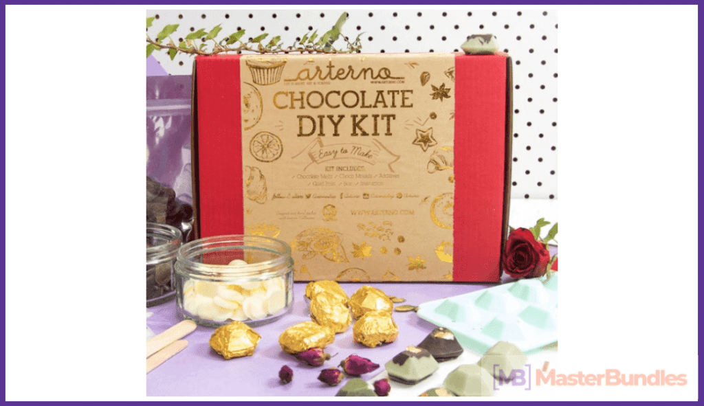 Chocolate DIY Kit. Valentine's Day Gifts for Artists
