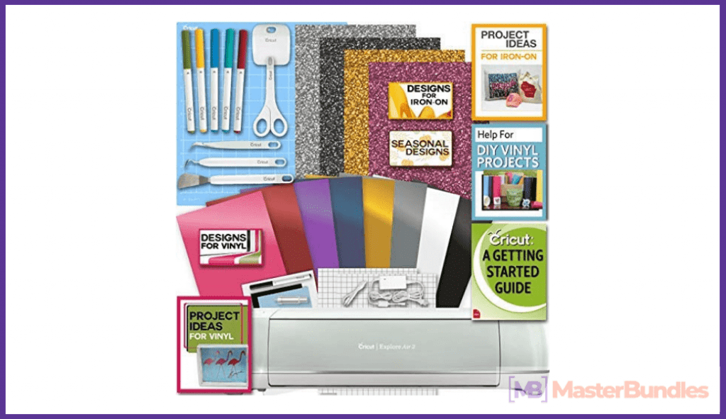 Cricut Explore Air 2 Machine Bundle. Birthday Gifts for Artists