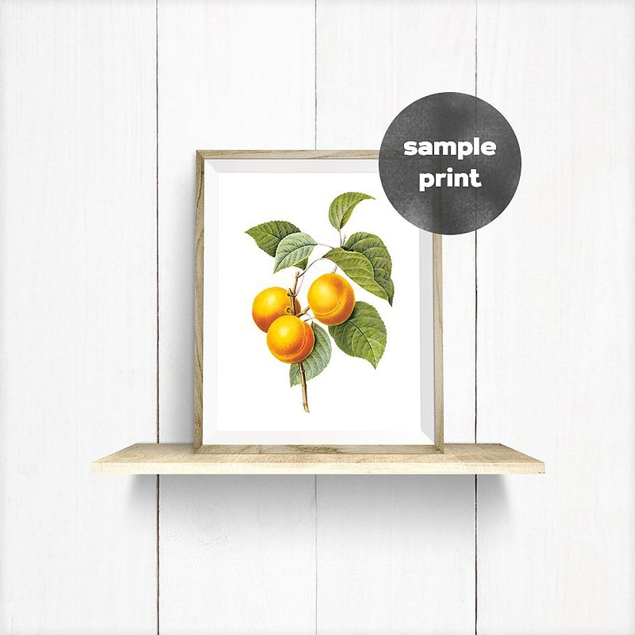 Delicate Wooden Frame On the Shelf On the White Wall