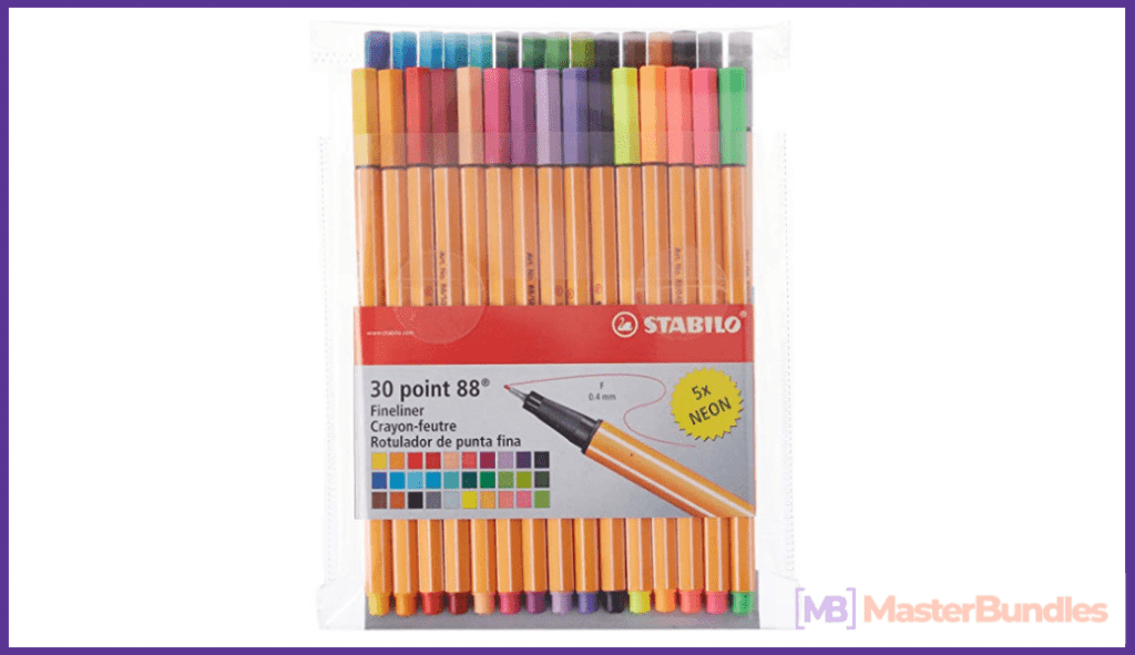 Fineliner Pens Set