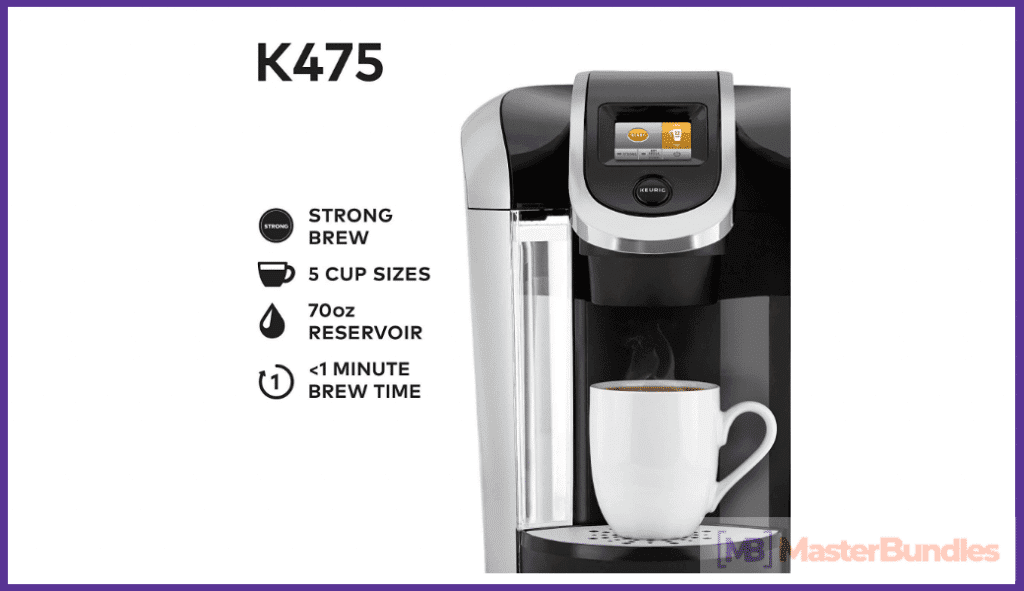 Keurig K475 Single Serve Coffee Maker