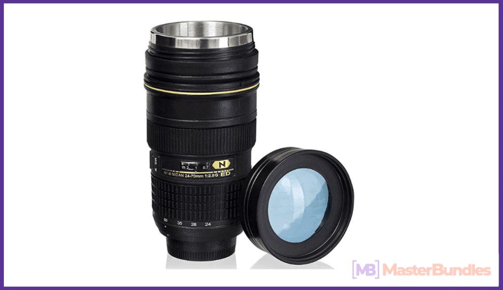Lens shaped Mug