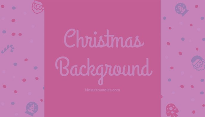 110+ Best Christmas Fonts 2020: Free & Premium - Christmas Background