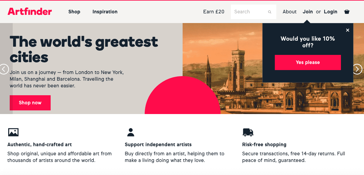 Sell Your Design Work Online. Top 30 Places in 2020 - Screen Shot 2019 10 18 at 09.36.59