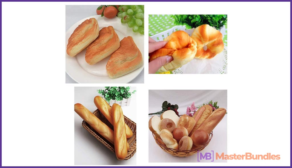 Artificial Breads Pastries