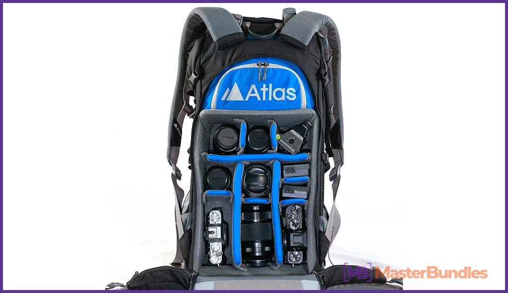 Backpack bags for photography gear