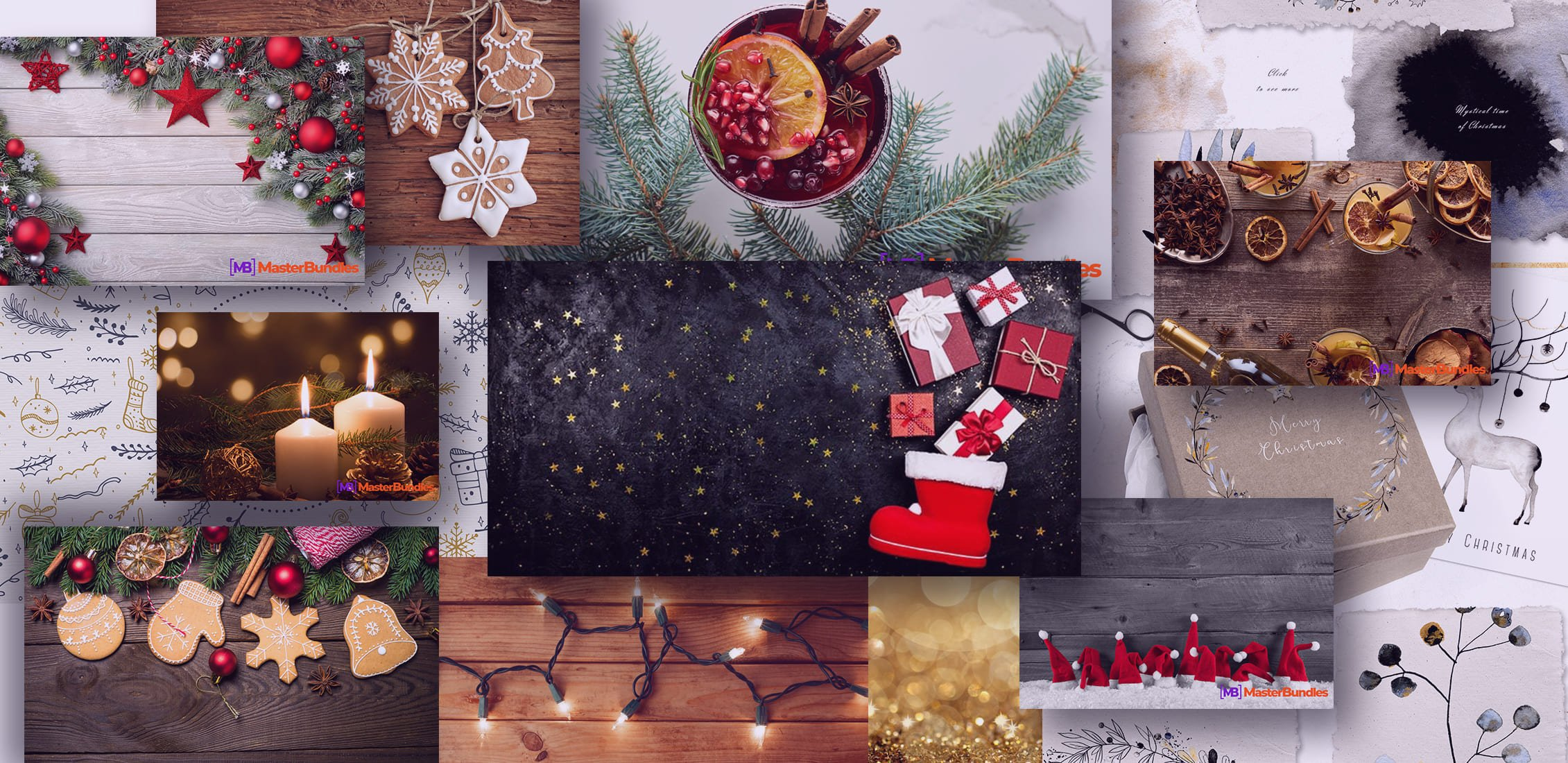 Examples Best Christmas Background Images.