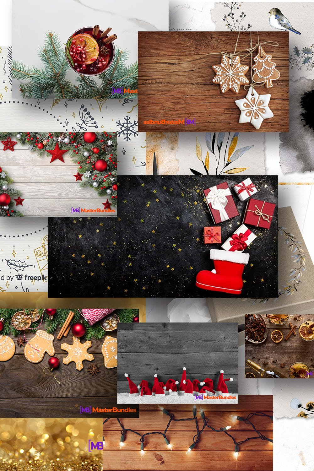 Pinterest Image Best Christmas Background.