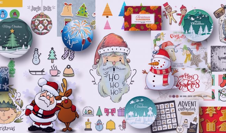 Examples Best Christmas CLipart.