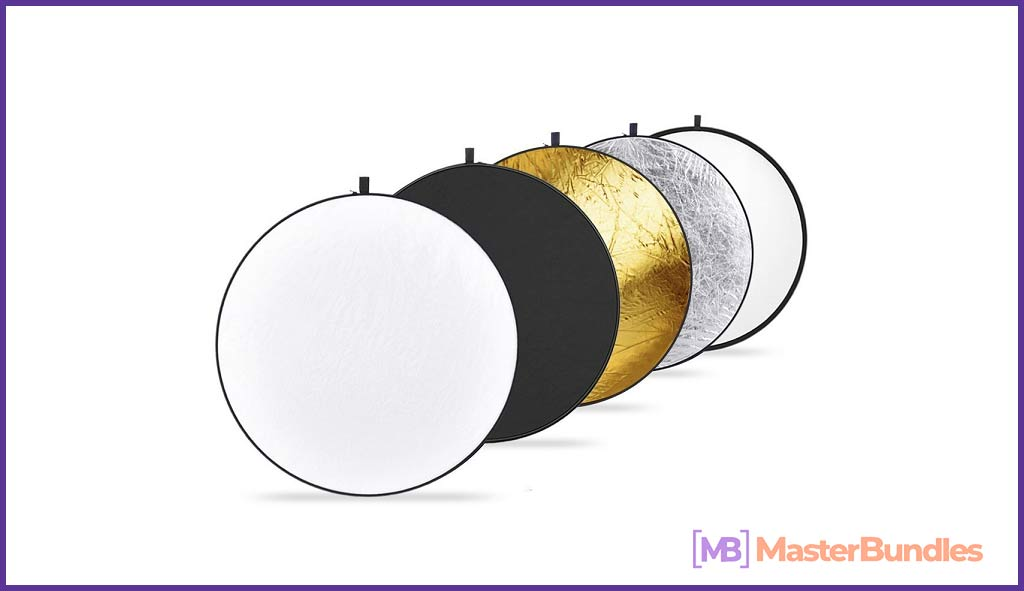 Collapsible Multi-Disc Light Reflector