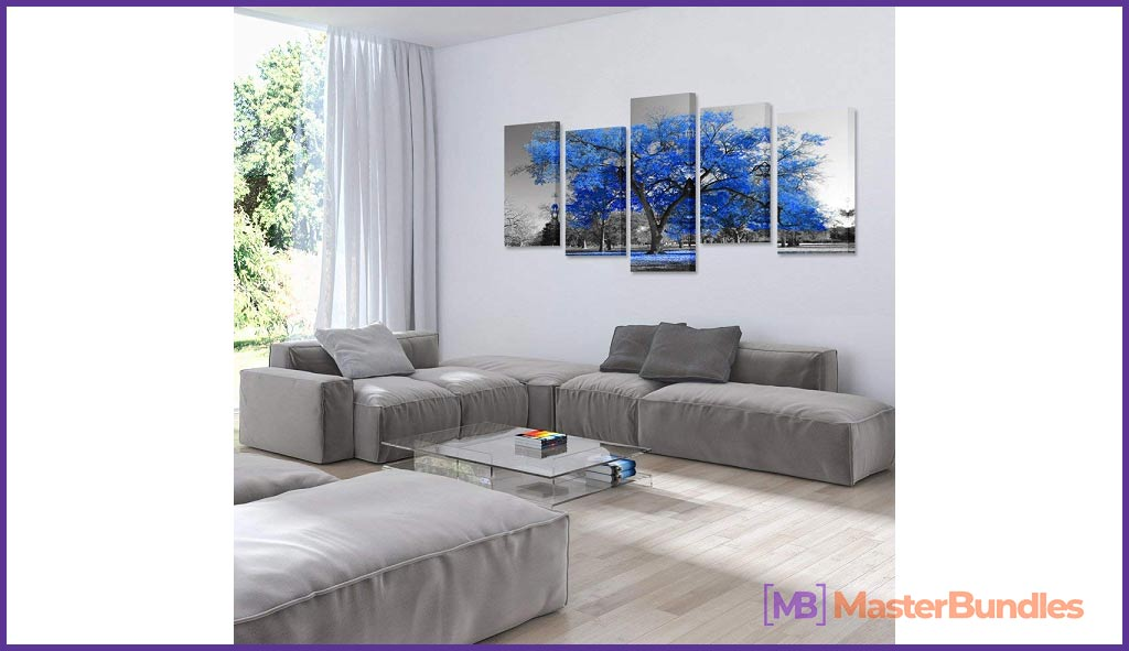 Creative Print Wall Art Painting
