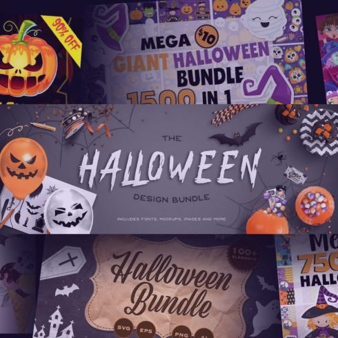 Halloween Design Bundles.