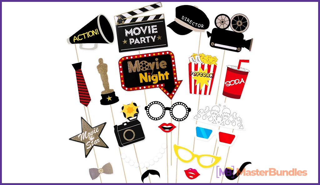 Hollywood Style Photo Props