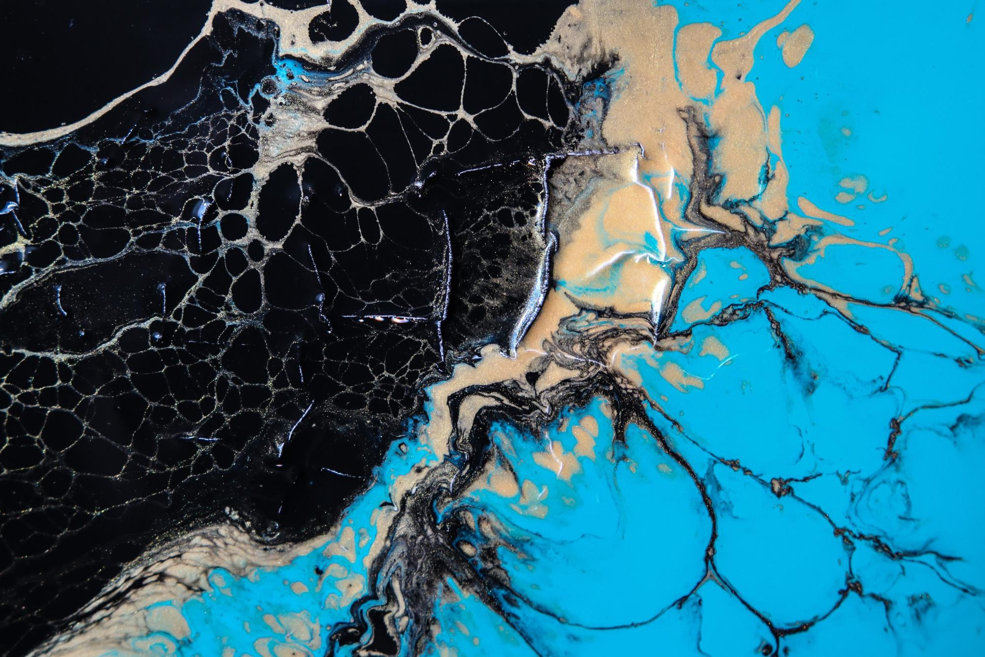 Fluid Art Tutorial: How to Do Acrylic Pouring - image12