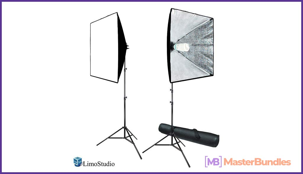 LimoStudio 700W Photography Softbox Light Lighting Kit. Best Gifts Ideas For Photographers