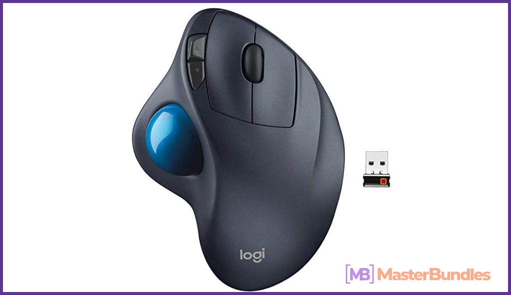 Logitech Wireless Trackball.