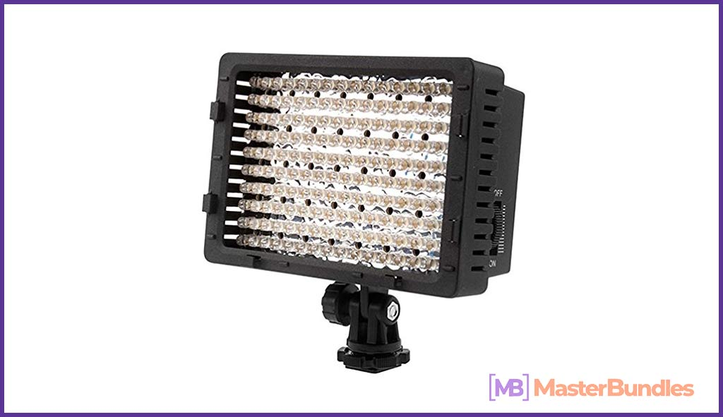 NEEWER 160 LED CN-160 Dimmable Ultra High Power Panel Digital Camera