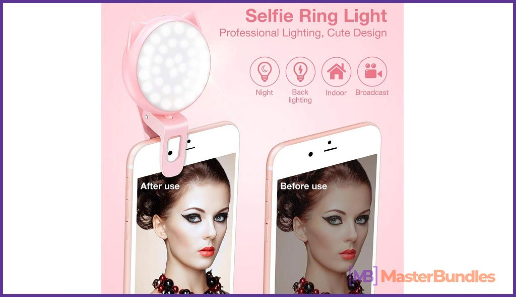 Perfect Light for Selfie. Best Gifts Ideas For Photographers