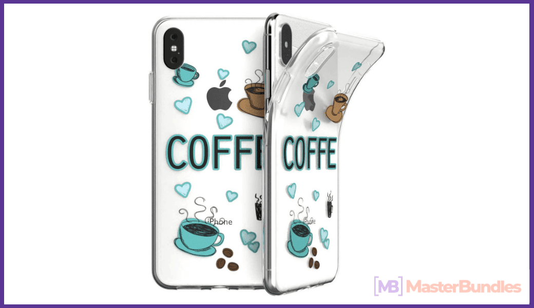 Case for iPhone and coffee lovers.