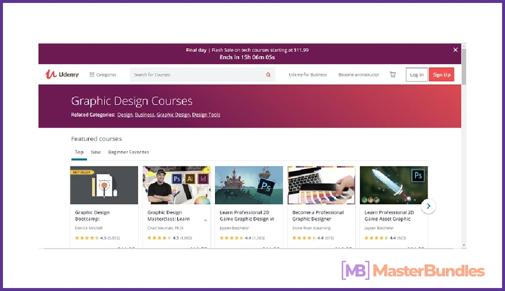 Udemy Graphic Design Courses