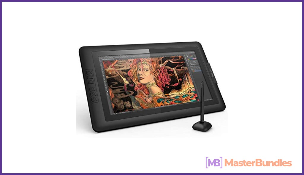 High quality tablet for creating graphics.
